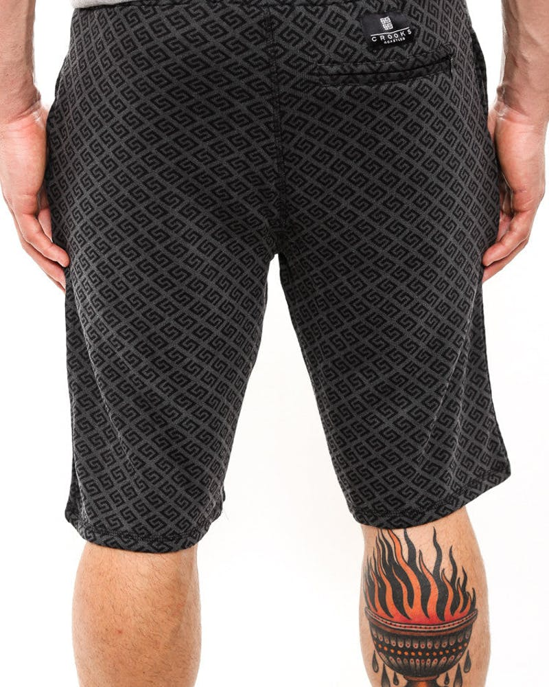 Thuxury Repeat Shorts Black