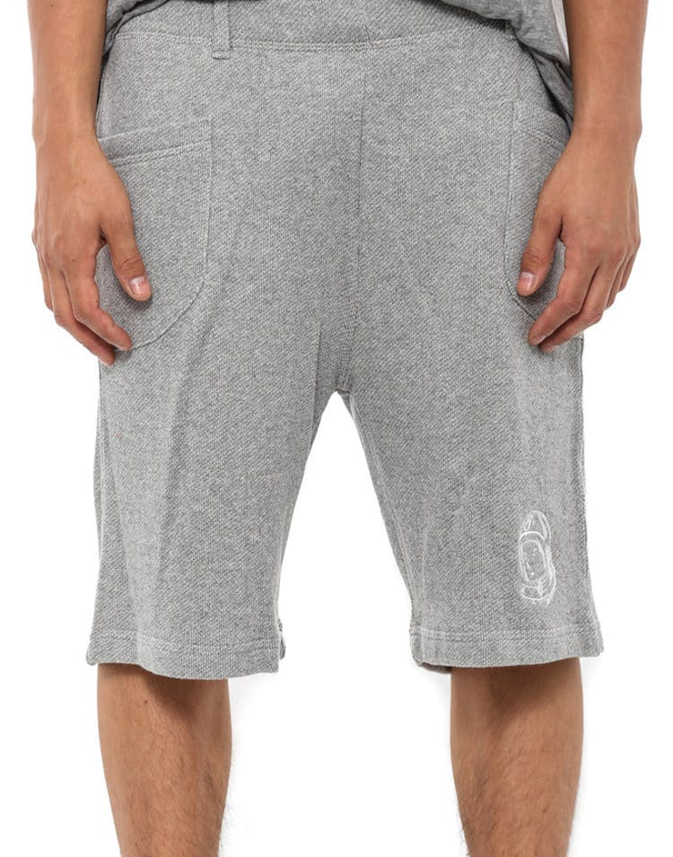 Bbc Fleece Shorts Grey
