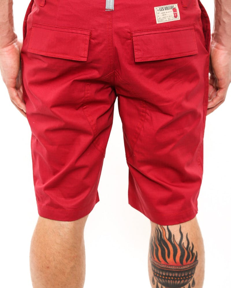 Thieves Shorts Burgundy