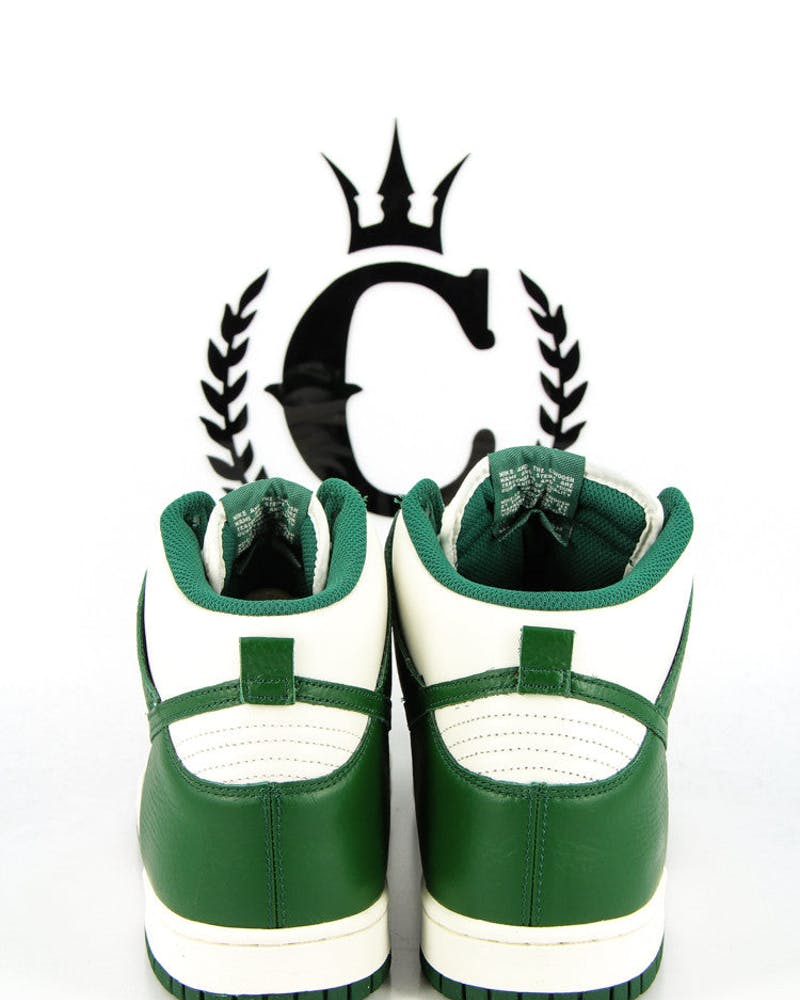 Dunk High S Green/white