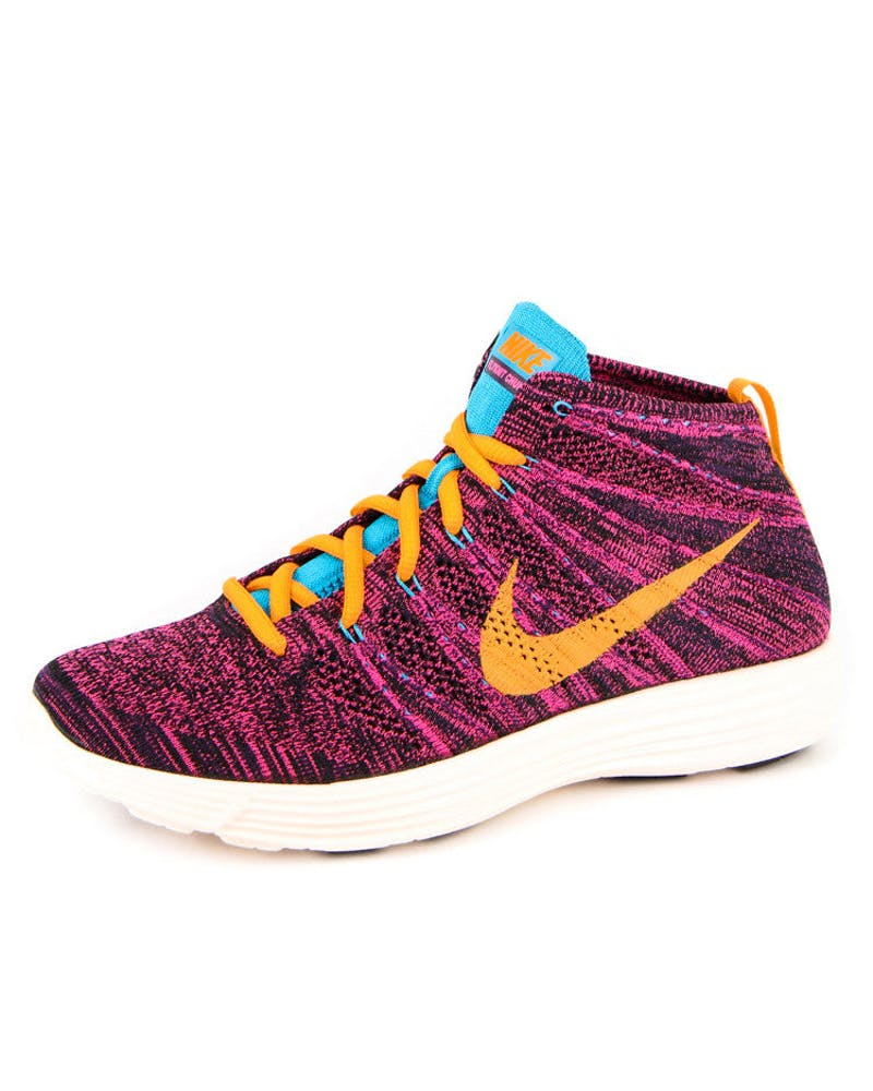 Lunar Flyknit Chukka Black/purple/or