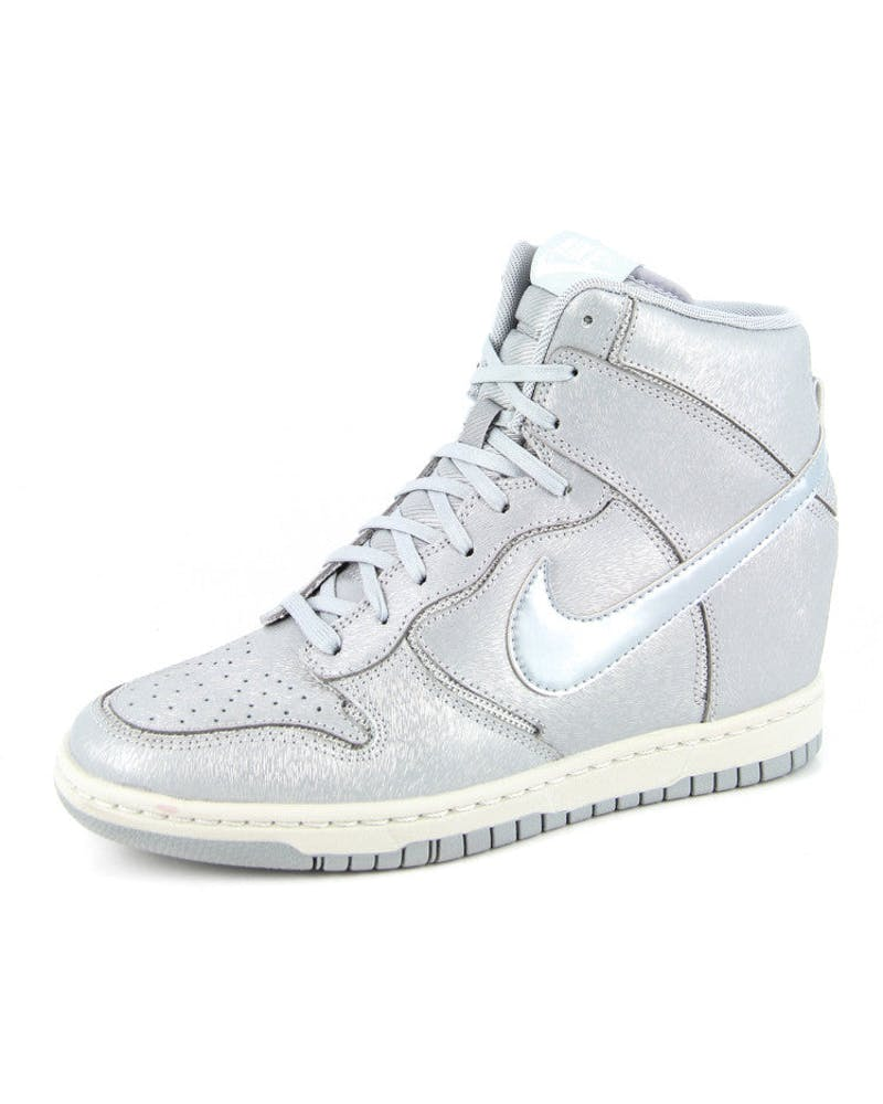 Womens Dunk Sky Cut Out Grey/silver