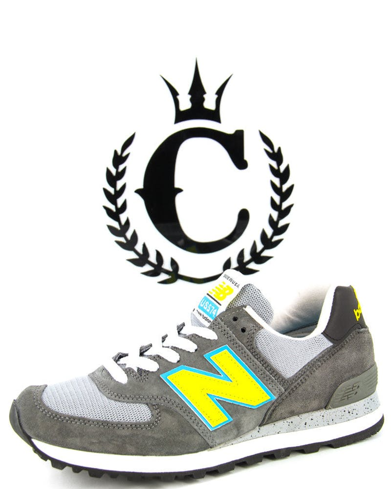 NB 574 Traditionals Grey/charcoal/y