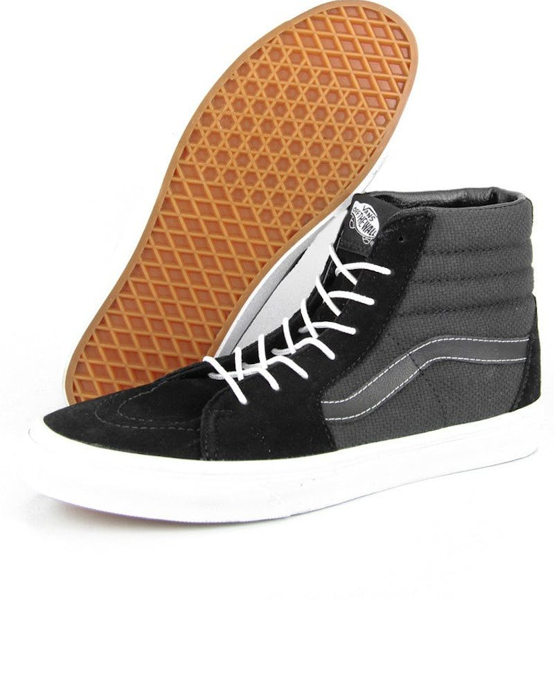 Sk8 HI Top Hemp Black/white