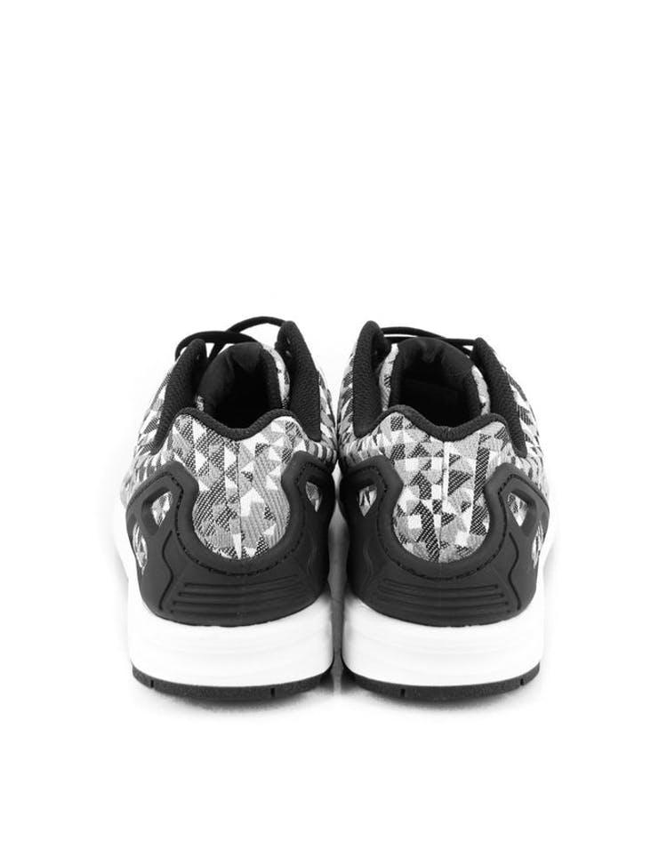 cf92d7443 Adidas Originals ZX Flux Weave White black gre – Culture Kings