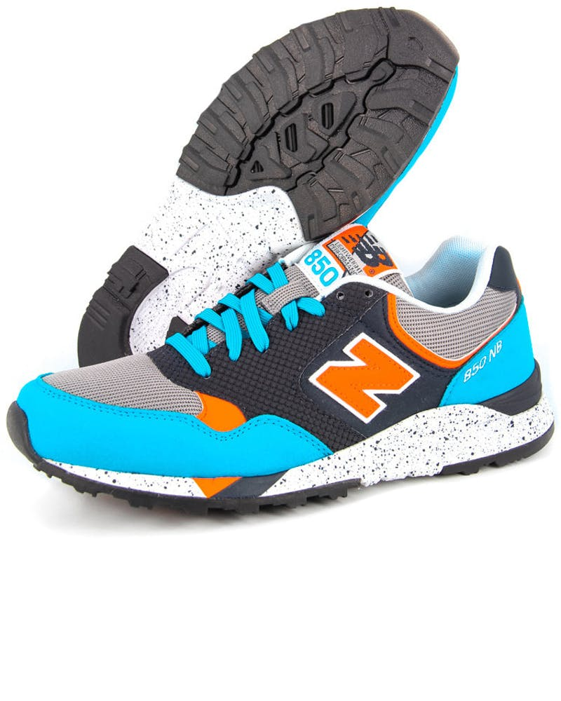 New Balance 850 Grey/blue/orang