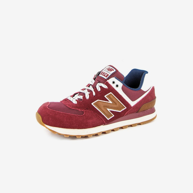 NB 574 Traditionals Burgundy