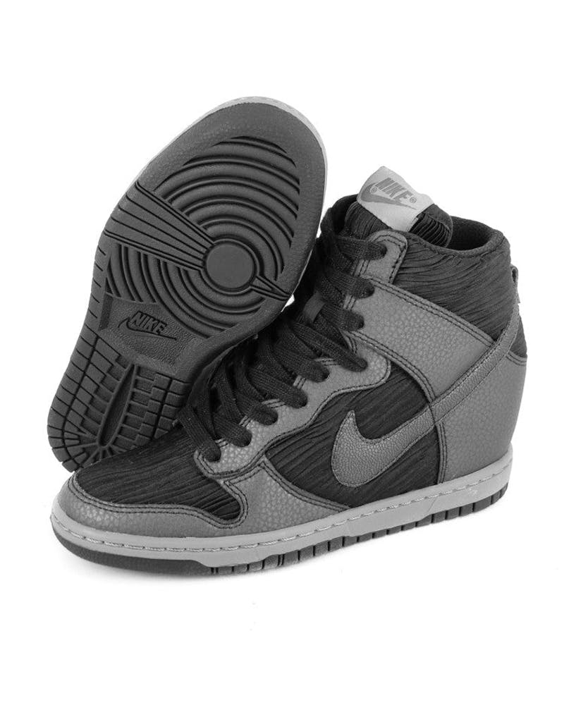 Women's Dunk Sky HI Black/charcoal/