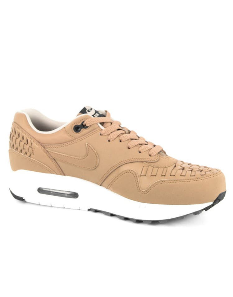 finest selection 6d324 8f98b Air Max 1 Woven Tan white