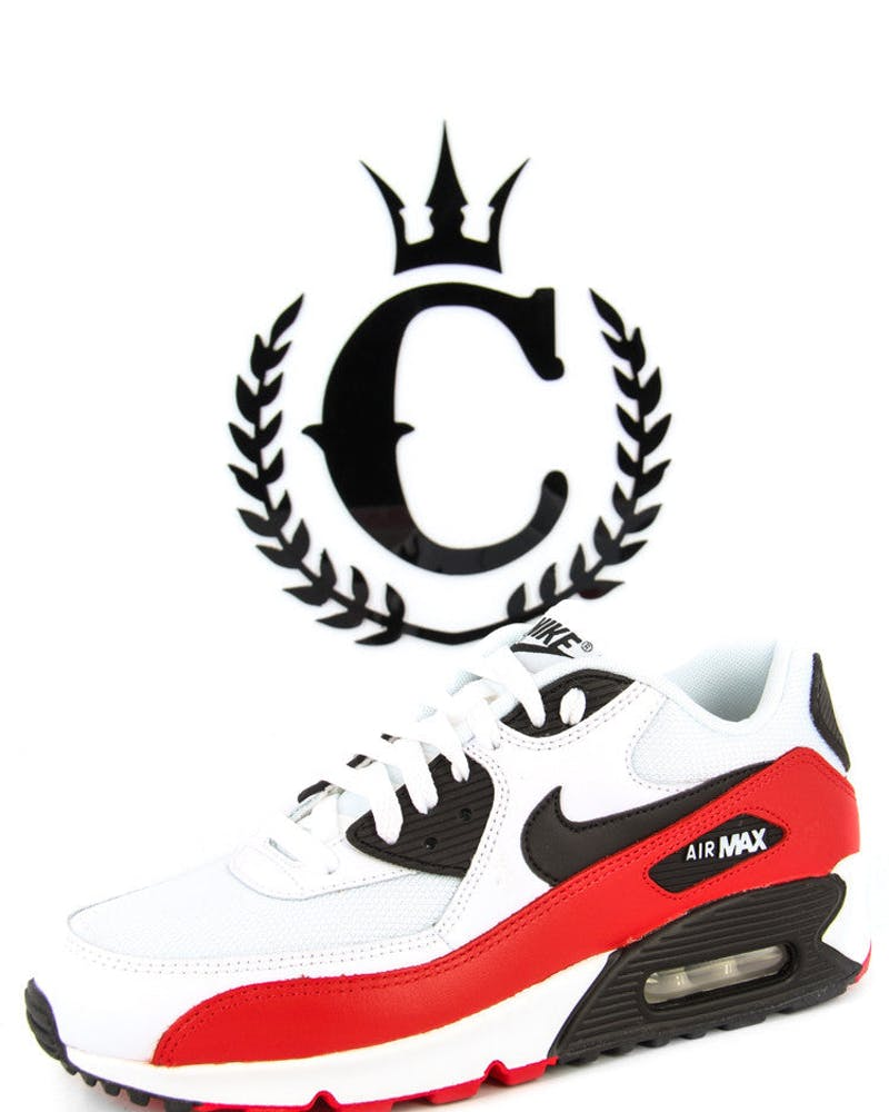 Airmax 90 S Essential White/black/red