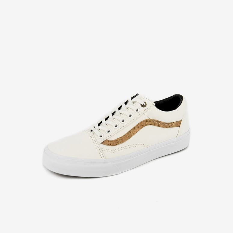 b8a42e1014 Vans Old Skool Cork White tan – Culture Kings