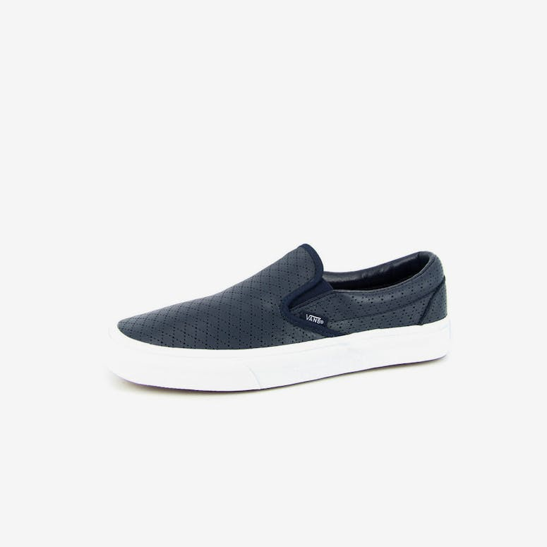 8b74e5748a1494 Vans Classic Slip On Leather Navy – Culture Kings