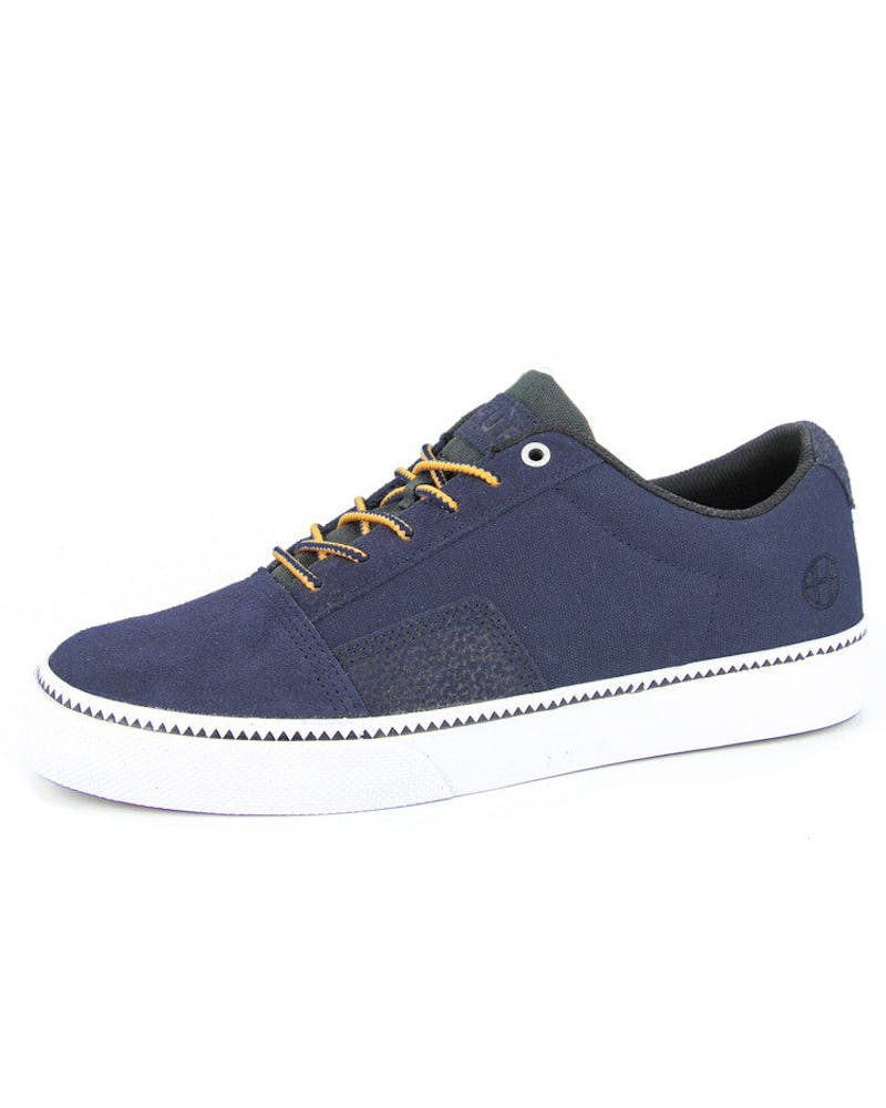 Southern Suede Shoe Navy/elephant