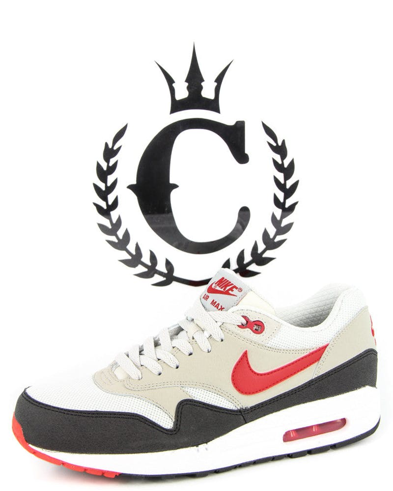 Air Max 1 S Essential White/ash/black