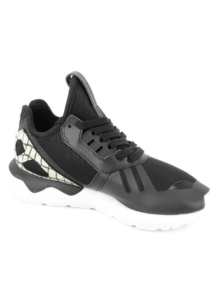 Womens Tubular Runner Black/white