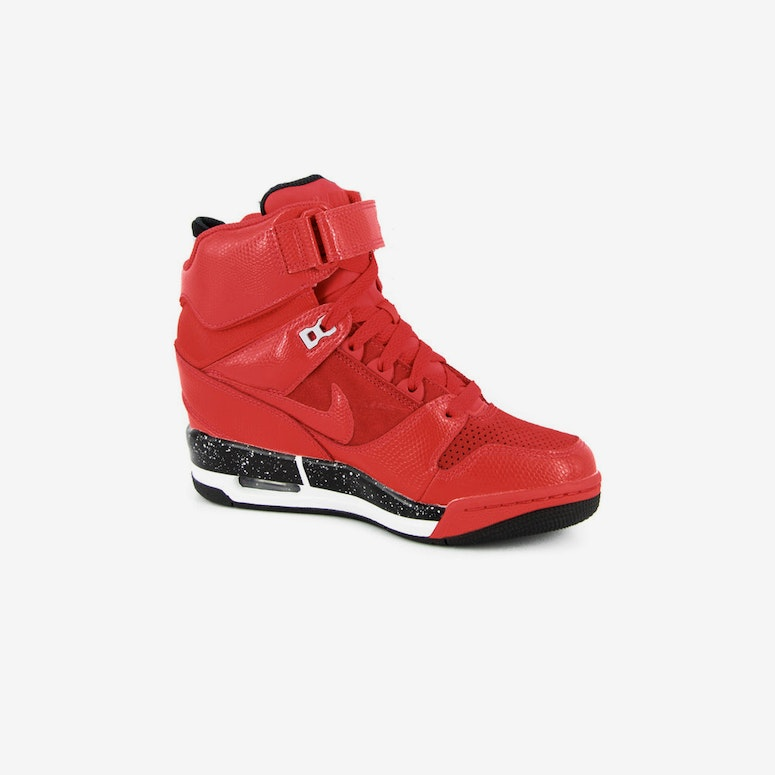 Womens Air Rev Sky HI Red/black