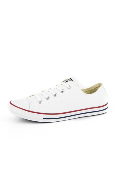 Womens Dainty OX White