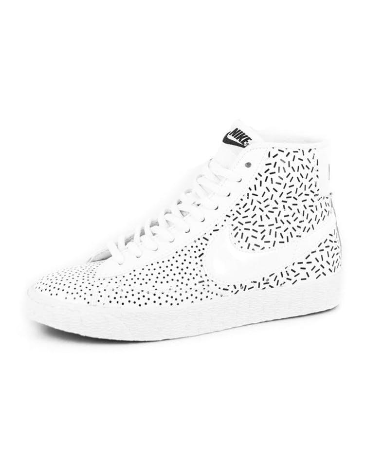 new products 04933 fe226 Womens Blazer Mid Print White white bla