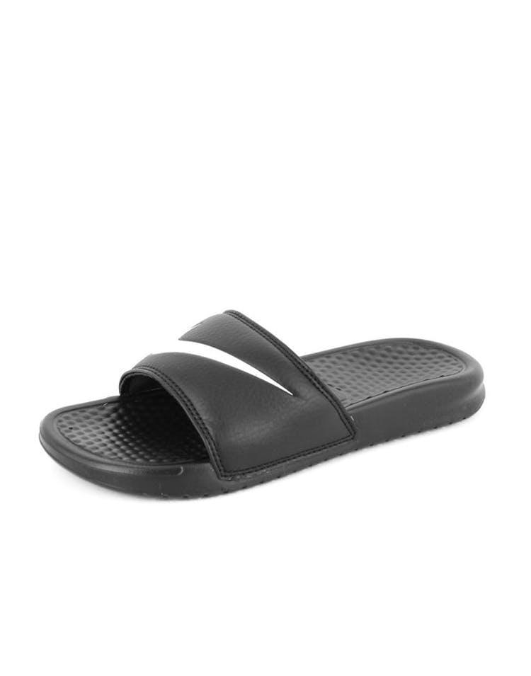 c63d34610c54 Nike Women s Benassi Swoosh Black white – Culture Kings