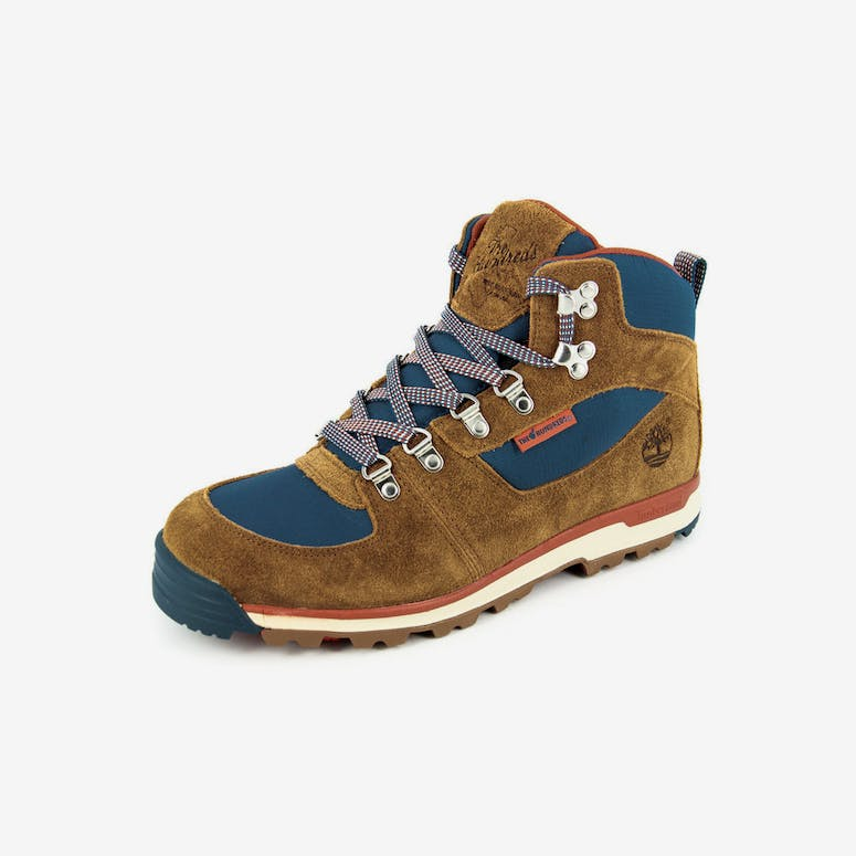 960ee870a164 Timberland Gtscrmbl Mid Mens Boots Brown blue – Culture Kings