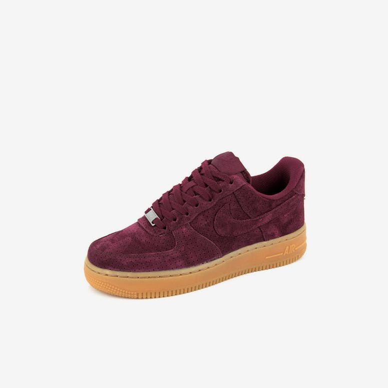Nike Women s Air Force 1  07 Suede Burgundy burgun – Culture Kings ea4410c97f