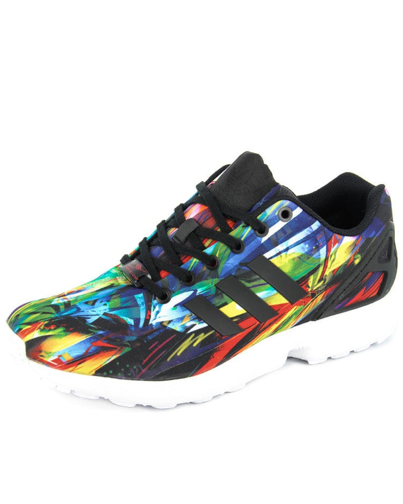 ZX Flux Black/white/mul