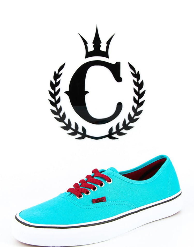 Limited Colour Authentics Turquoise/red