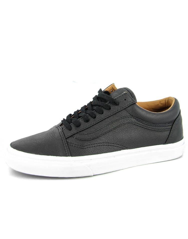 3f7eff1c Vans Old Skool Premium Leather Black – Culture Kings