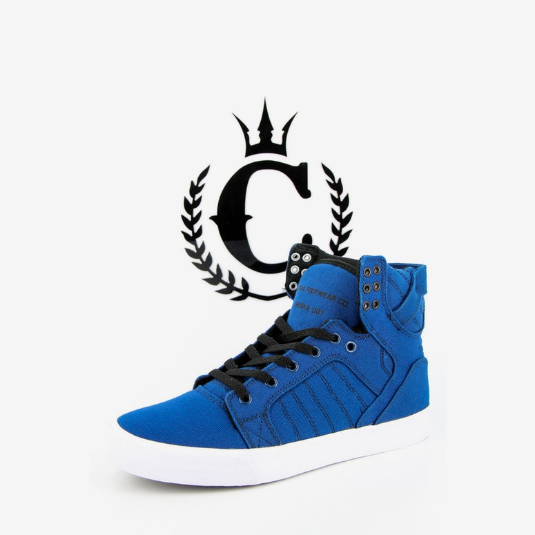 Supra Skytop Shoe Royal/black/whi