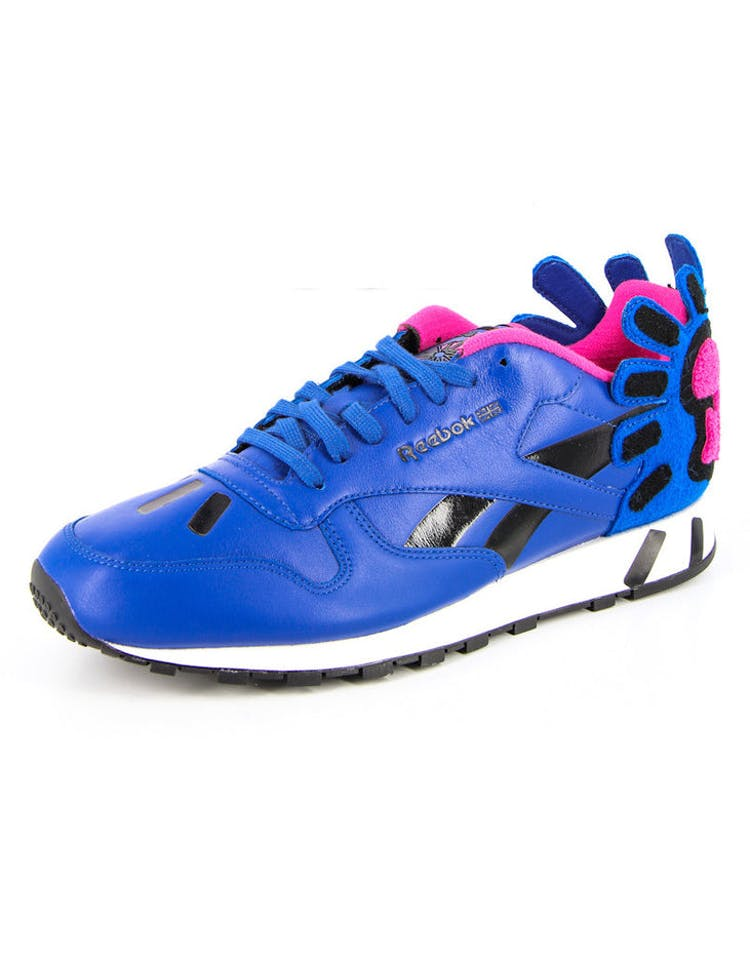 Rbk X K Haring Leather Lux Blue/pink/black