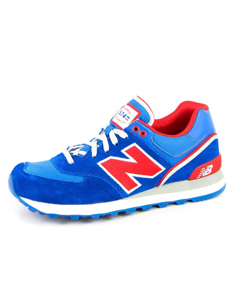 NB 574 Traditionals Blue/red