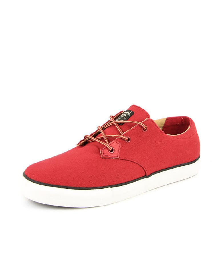 Lo-cut Shoe Red/brown
