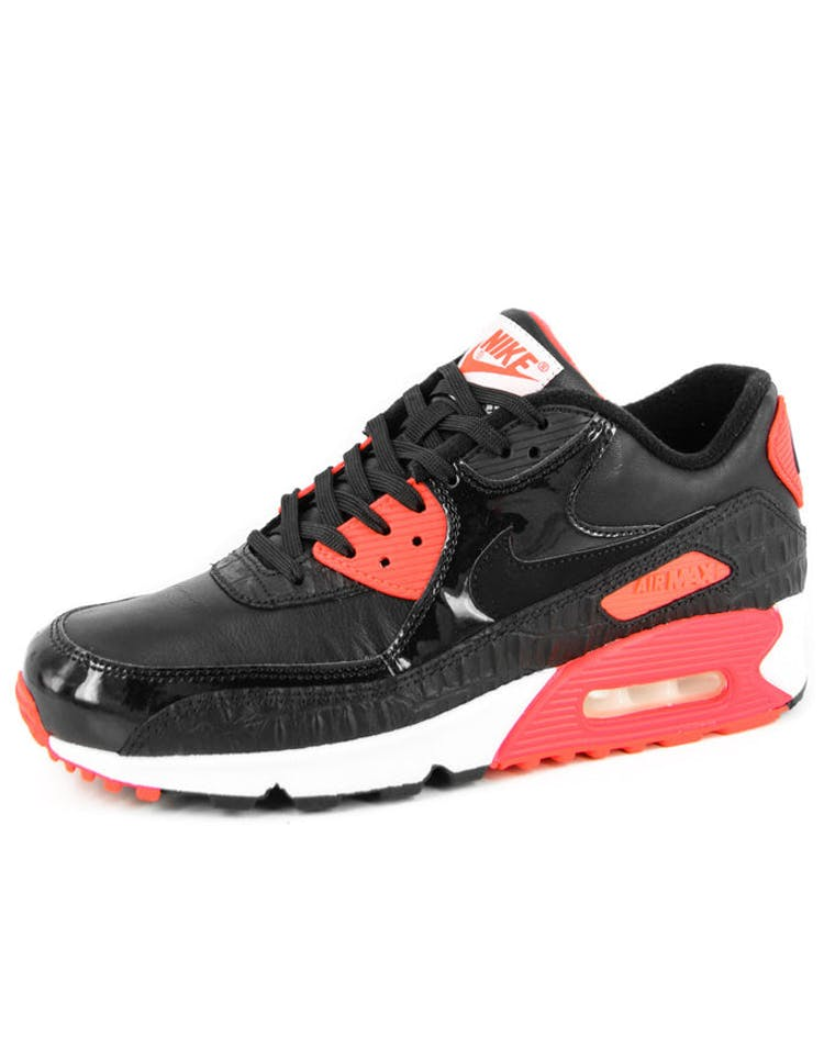 premium selection 66e8e 766ad Nike Air Max 90 Anniversary Black black red – Culture Kings