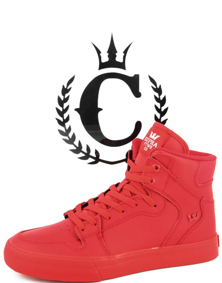 bf370f489d Supra Vaider Red/red – Culture Kings