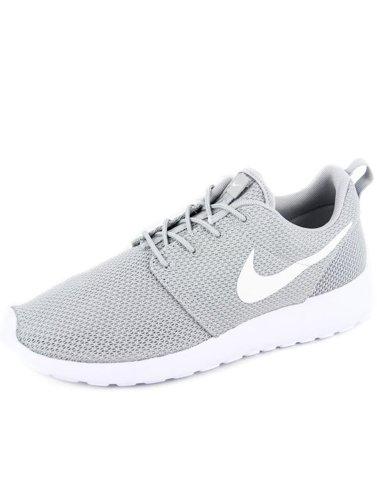 save off ee1c5 34502 Roshe One Grey/white