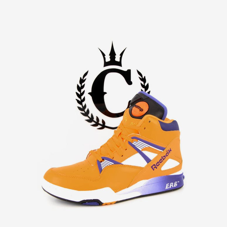 71eac36a469 Reebok Pump Omni Zone Retro Gold violet whi – Culture Kings