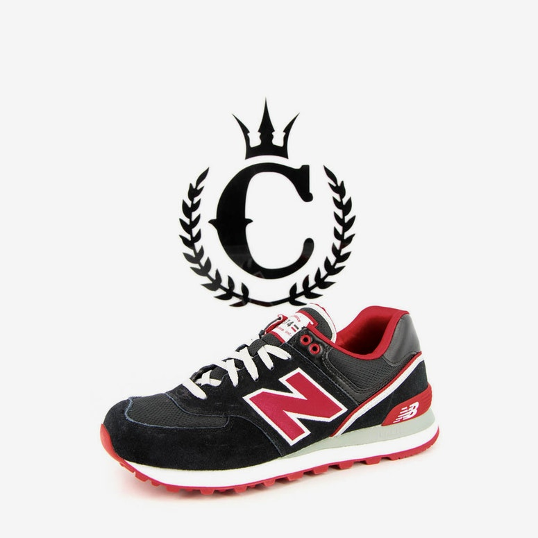 NB 574 Traditionals Black/red
