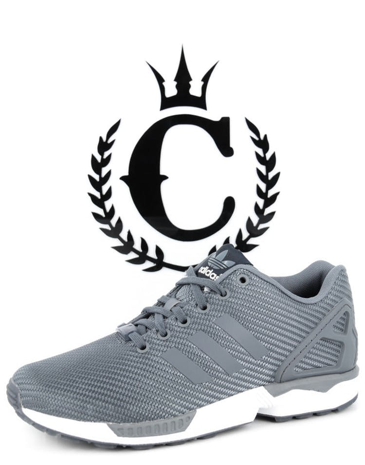 on sale f2a9a 658b8 Adidas Originals ZX Flux Grey white – Culture Kings