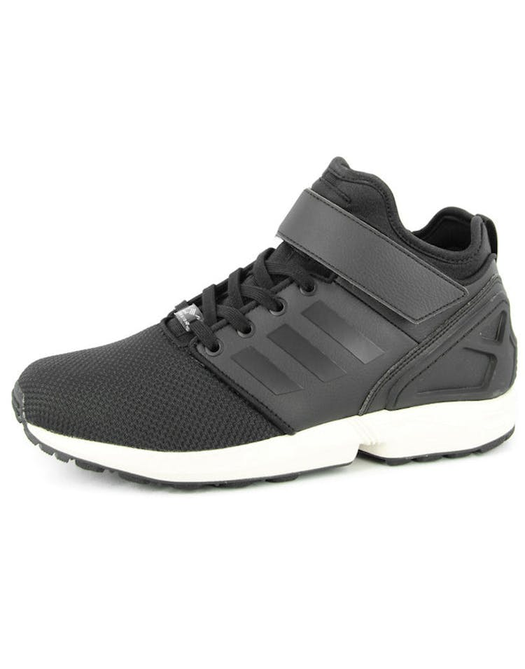 the latest 20f97 91499 ZX Flux Nps Mid Black/black/whi
