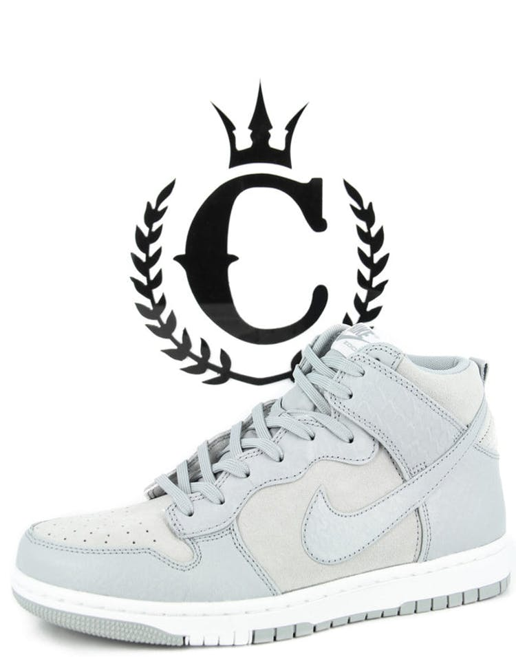 huge discount 07b4b 1fe2e Nike Dunk Cmft Prm Grey white – Culture Kings