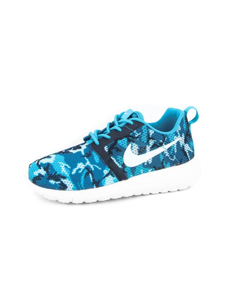 b83ad01e1cae Nike Rosherun Flight Weight GS Blue white navy – Culture Kings