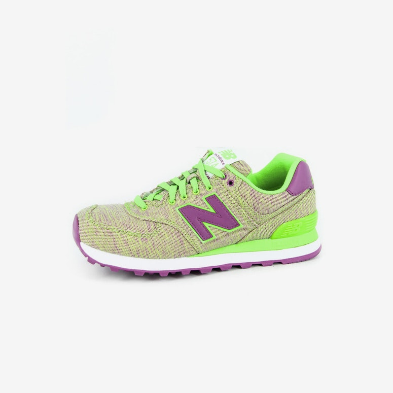 New Balance Womens Glitch 574 Green purple – Culture Kings 69d4ec7a516