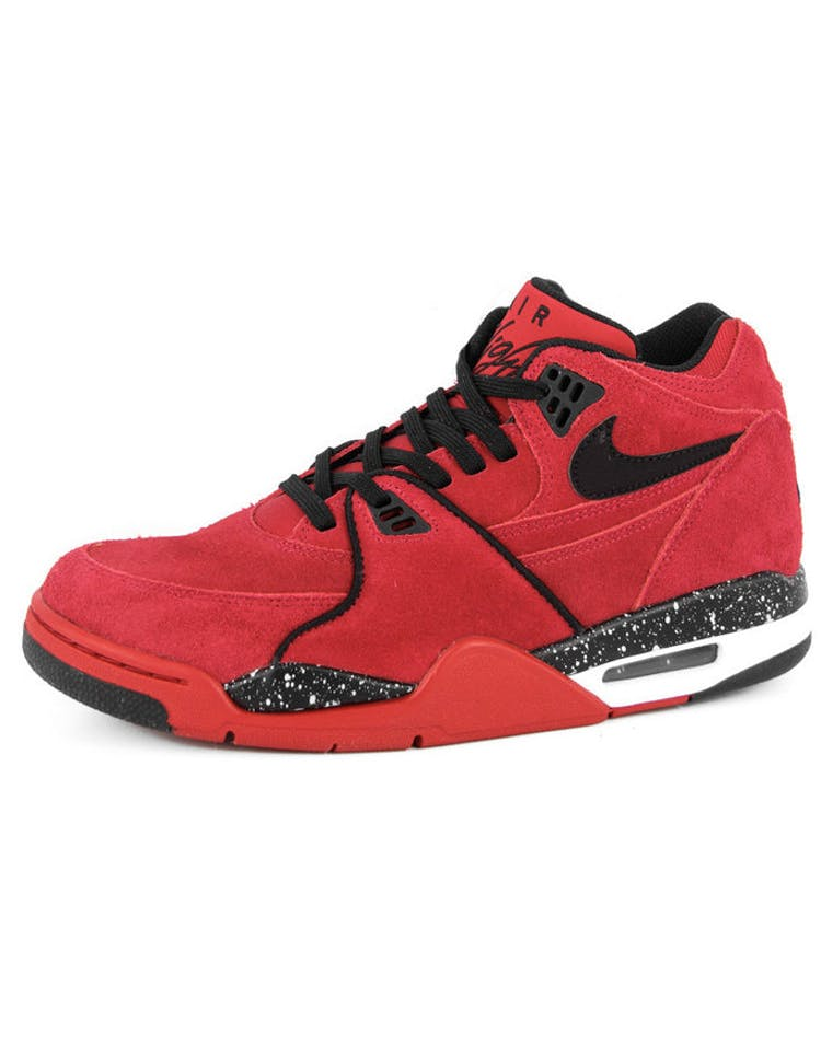ff9b690d7f64 Nike Air Flight 89 Red black white – Culture Kings