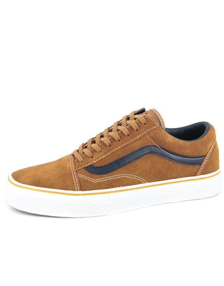 9558e9185108a5 Vans Old Skool Suede leather Brown – Culture Kings