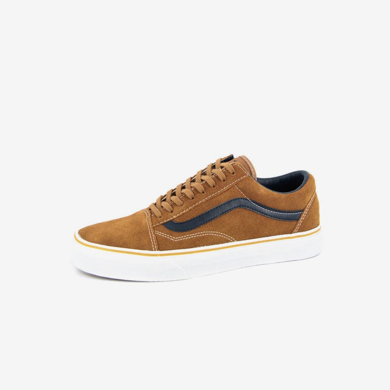 f7ac8f7e78296a Vans Old Skool Suede leather Brown – Culture Kings