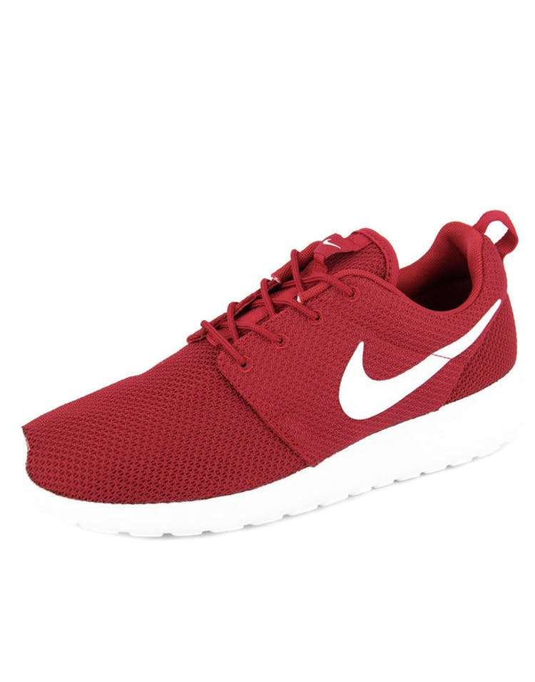 sale retailer df6c9 10d3f Nike Roshe One Red white black – Culture Kings