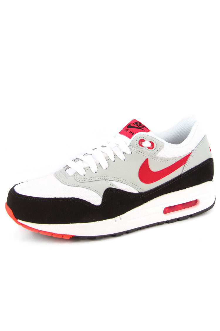 nike air max 1 essential red and white