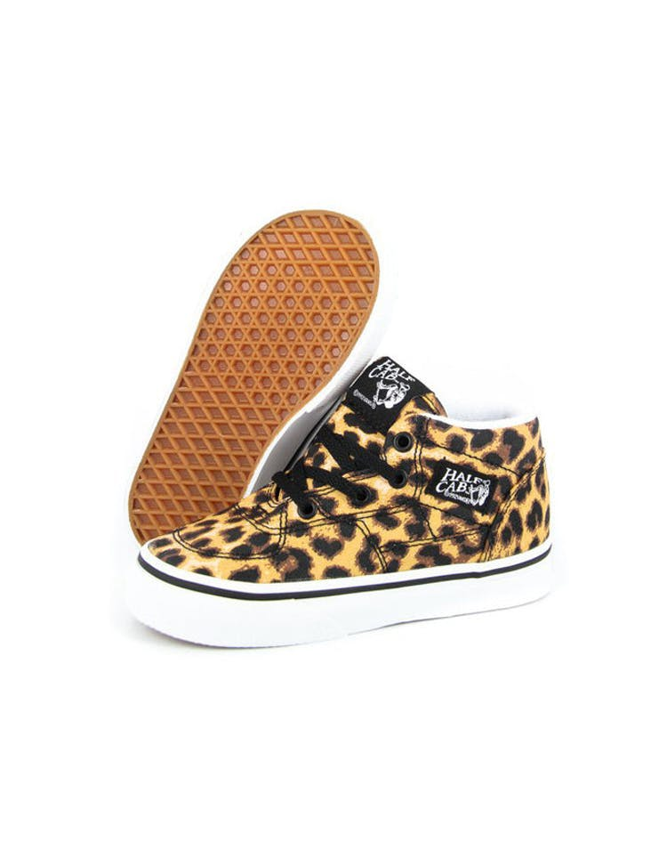 7d8ad07f3cc864 Vans Half Cab Toddler Shoe Leopard – Culture Kings