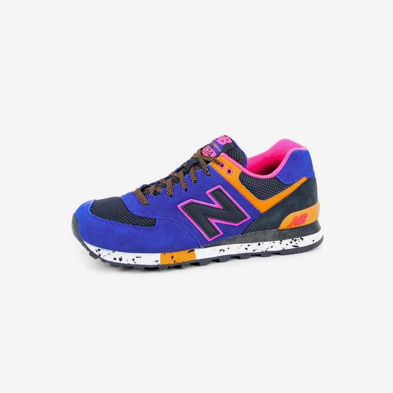 90s Outdoor 574 Royal/black/ora