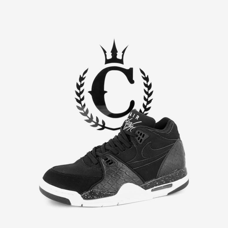 cheaper e7c9a 7c586 Nike Air Flight 89 Black white gre – Culture Kings